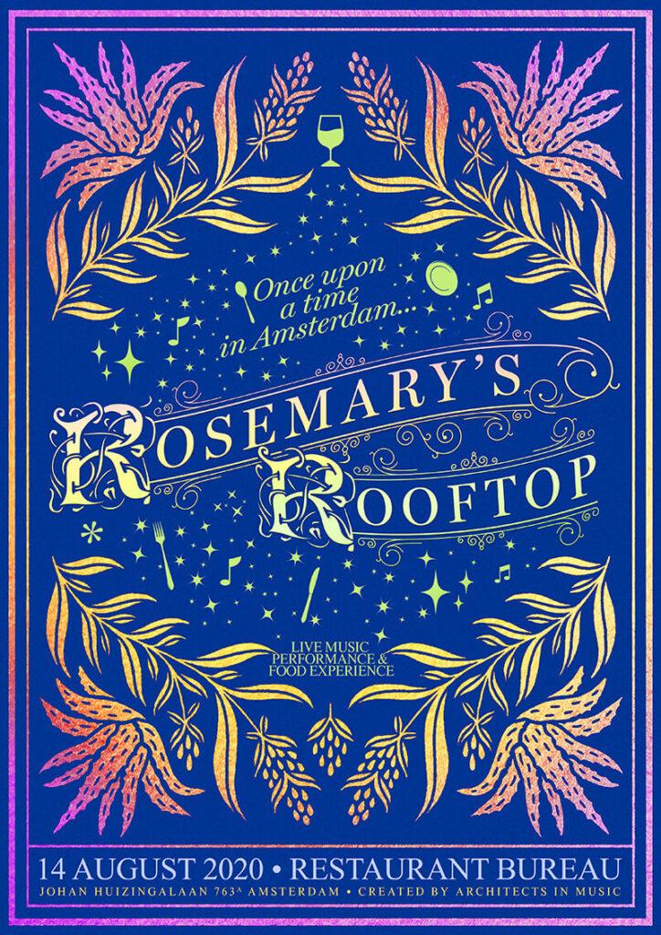 Rosemarys Rooftop Poster 14 Augustus